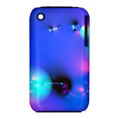 Love In Action, Pink, Purple, Blue Heartbeat 10000x7500 Apple iPhone 3G/3GS Hardshell Case (PC+Silicone)