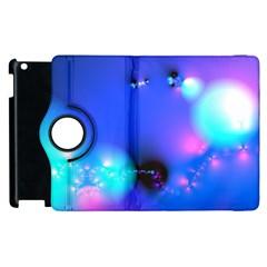 Love In Action, Pink, Purple, Blue Heartbeat 10000x7500 Apple iPad 2 Flip 360 Case