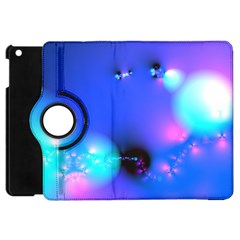 Love In Action, Pink, Purple, Blue Heartbeat 10000x7500 Apple Ipad Mini Flip 360 Case
