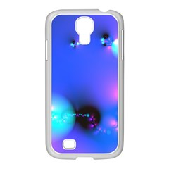 Love In Action, Pink, Purple, Blue Heartbeat 10000x7500 Samsung GALAXY S4 I9500/ I9505 Case (White)