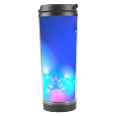 Love In Action, Pink, Purple, Blue Heartbeat 10000x7500 Travel Tumbler