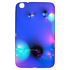 Love In Action, Pink, Purple, Blue Heartbeat 10000x7500 Samsung Galaxy Tab 3 (8 ) T3100 Hardshell Case
