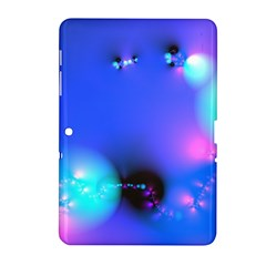 Love In Action, Pink, Purple, Blue Heartbeat 10000x7500 Samsung Galaxy Tab 2 (10.1 ) P5100 Hardshell Case