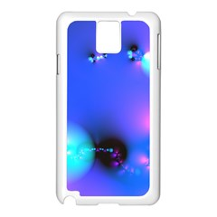 Love In Action, Pink, Purple, Blue Heartbeat 10000x7500 Samsung Galaxy Note 3 N9005 Case (white)