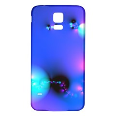 Love In Action, Pink, Purple, Blue Heartbeat 10000x7500 Samsung Galaxy S5 Back Case (white)