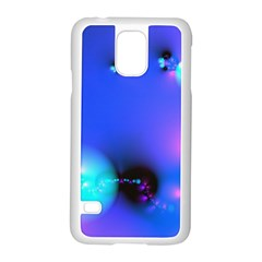 Love In Action, Pink, Purple, Blue Heartbeat 10000x7500 Samsung Galaxy S5 Case (white)