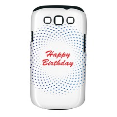 Halftone Circle With Squares Samsung Galaxy S III Classic Hardshell Case (PC+Silicone)