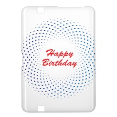 Halftone Circle With Squares Kindle Fire Hd 8 9  Hardshell Case