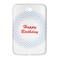 Halftone Circle With Squares Samsung Galaxy Note 8 0 N5100 Hardshell Case