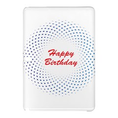Halftone Circle With Squares Samsung Galaxy Tab Pro 12.2 Hardshell Case