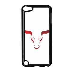 Stylized Symbol Red Bull Icon Design Apple iPod Touch 5 Case (Black)