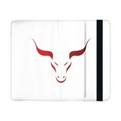 Stylized Symbol Red Bull Icon Design Samsung Galaxy Tab Pro 8 4  Flip Case