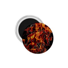 On Fire 1 75  Button Magnet