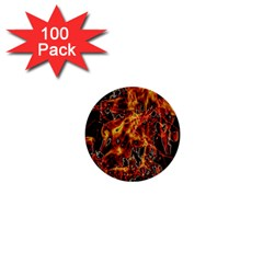 On Fire 1  Mini Button (100 pack)
