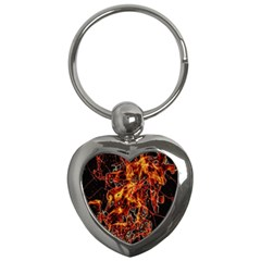 On Fire Key Chain (Heart)