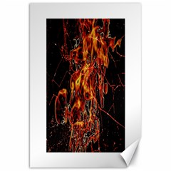 On Fire Canvas 20  x 30  (Unframed)
