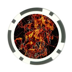 On Fire Poker Chip (10 Pack)