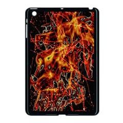 On Fire Apple Ipad Mini Case (black)