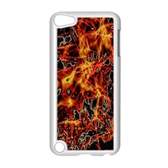 On Fire Apple Ipod Touch 5 Case (white)
