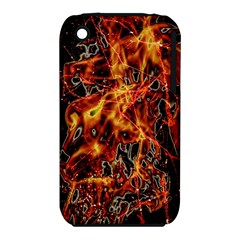 On Fire Apple iPhone 3G/3GS Hardshell Case (PC+Silicone)