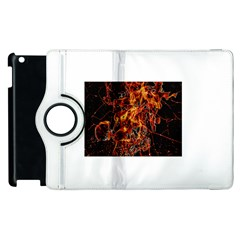 On Fire Apple iPad 2 Flip 360 Case