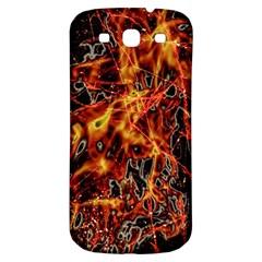 On Fire Samsung Galaxy S3 S Iii Classic Hardshell Back Case