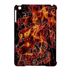 On Fire Apple Ipad Mini Hardshell Case (compatible With Smart Cover)