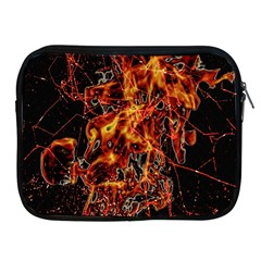 On Fire Apple Ipad Zippered Sleeve