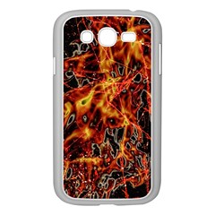 On Fire Samsung Galaxy Grand DUOS I9082 Case (White)