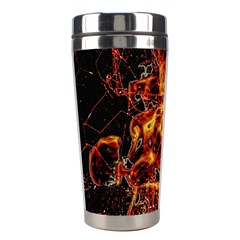 On Fire Stainless Steel Travel Tumbler