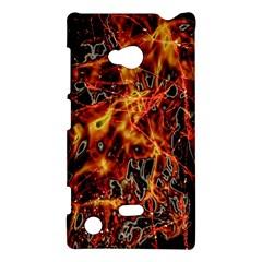 On Fire Nokia Lumia 720 Hardshell Case