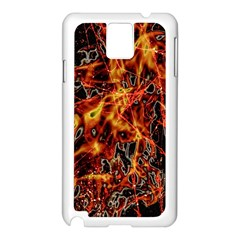 On Fire Samsung Galaxy Note 3 N9005 Case (white)