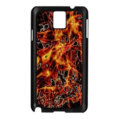 On Fire Samsung Galaxy Note 3 N9005 Case (Black)