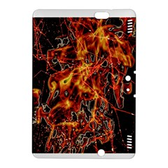 On Fire Kindle Fire Hdx 8 9  Hardshell Case