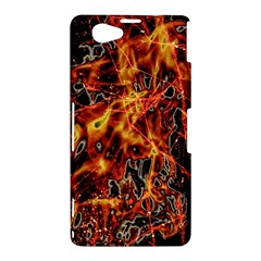 On Fire Sony Xperia Z1 Compact Hardshell Case