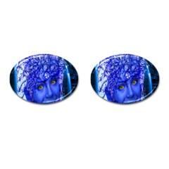 Water Nymph Cufflinks (Oval)