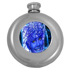 Water Nymph Hip Flask (Round)