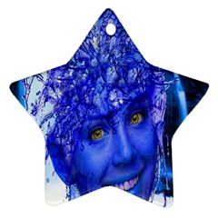 Water Nymph Star Ornament (two Sides)