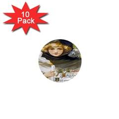A Happy Hallowe en 1  Mini Button Magnet (10 pack)