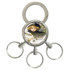 A Happy Hallowe en 3-Ring Key Chain