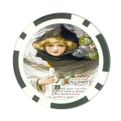 A Happy Hallowe en Poker Chip (10 Pack)