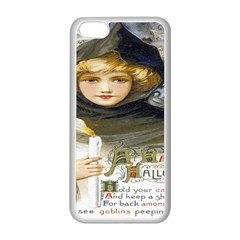 A Happy Hallowe en Apple iPhone 5C Seamless Case (White)