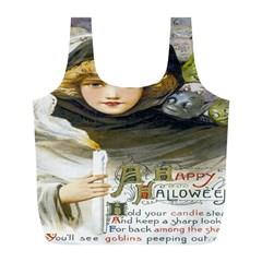 A Happy Hallowe en Reusable Bag (L)