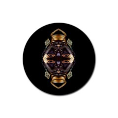 African Goddess Drink Coasters 4 Pack (round)