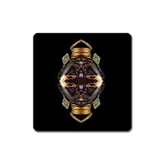 African Goddess Magnet (Square)