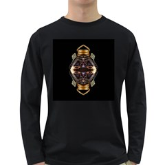 African Goddess Men s Long Sleeve T-shirt (Dark Colored)