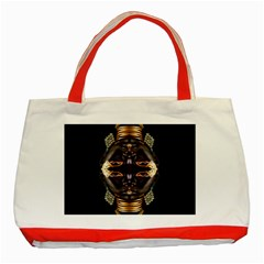 African Goddess Classic Tote Bag (red)
