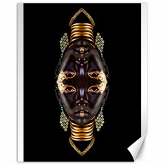 African Goddess Canvas 16  x 20  (Unframed)