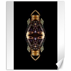 African Goddess Canvas 20  x 24  (Unframed)