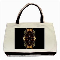African Goddess Twin-sided Black Tote Bag